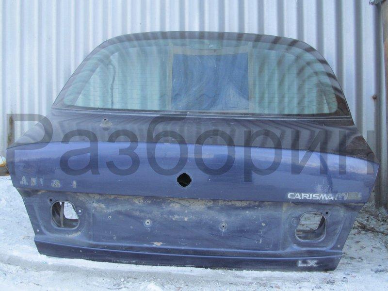 Крышка багажника Mitsubishi Carisma HATCHBACK 1997 задняя