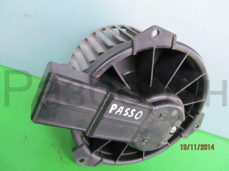 Моторчик печки Toyota Passo Kgc10 2004