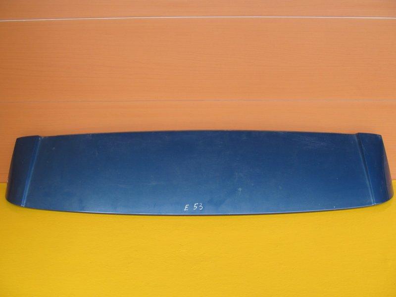 Спойлер Bmw E53 2001