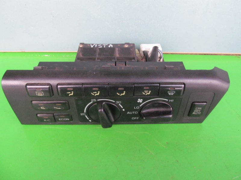 Блок управления печкой Toyota Vista Sv30 1993