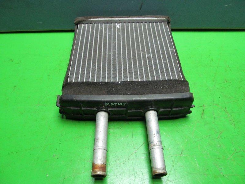 Радиатор печки Daewoo Matiz 2008