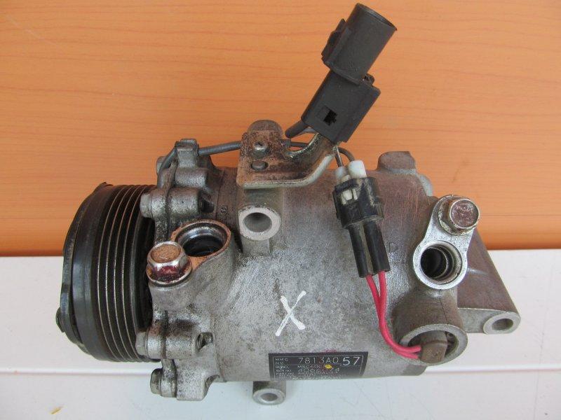 Компрессор кондиционера Mitsubishi Lancer X 4A91 2009