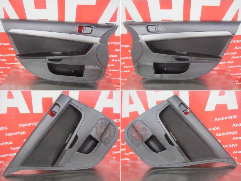 Обшивки дверей комплект Mitsubishi Lancer X СЕДАН 2007