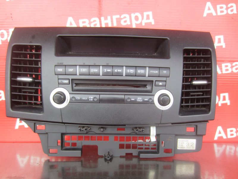 Магнитола Mitsubishi Lancer X 2007