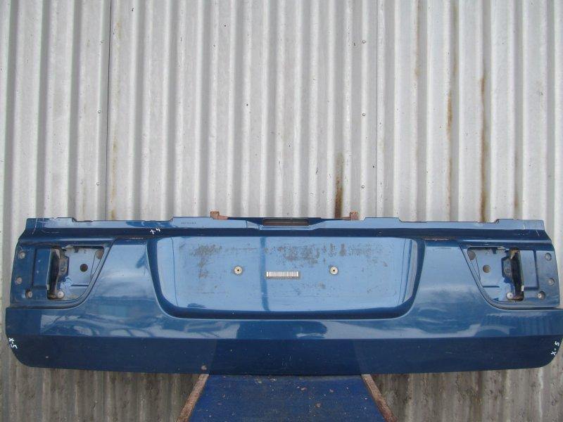 Крышка багажника Bmw E53 2001 нижняя