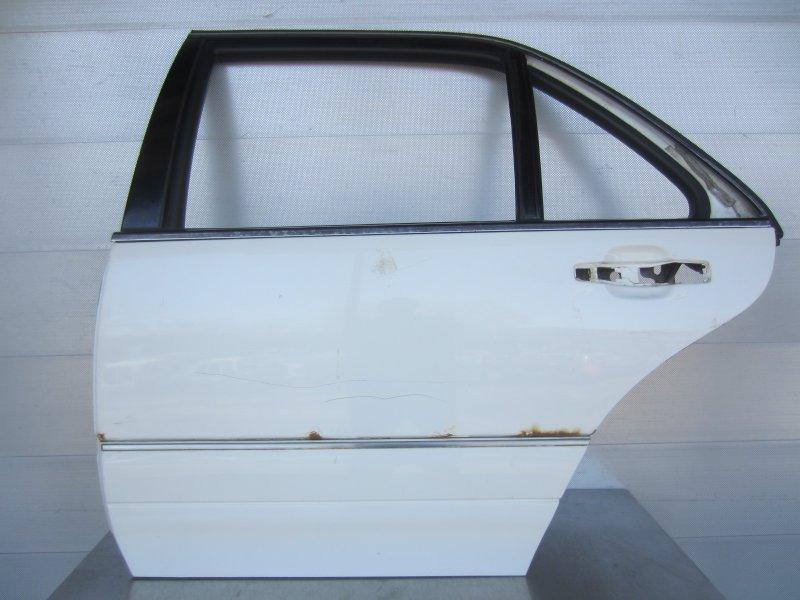 Дверь Mercedes-Benz W140 LONG 1997 задняя левая