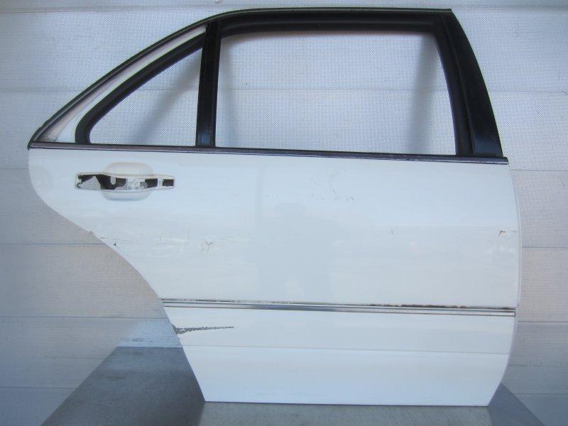 Дверь Mercedes-Benz W140 LONG 1997 задняя правая