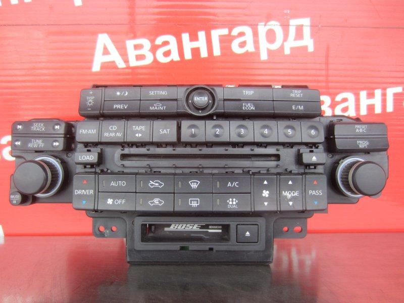 Блок управления печкой Infiniti Fx S50 2003