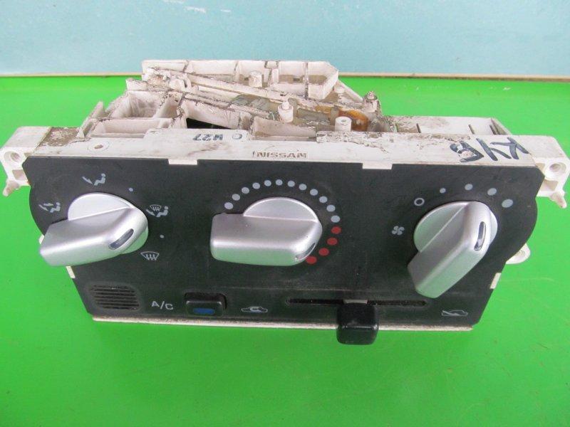 Блок управления печкой Nissan Cube Az10 2000