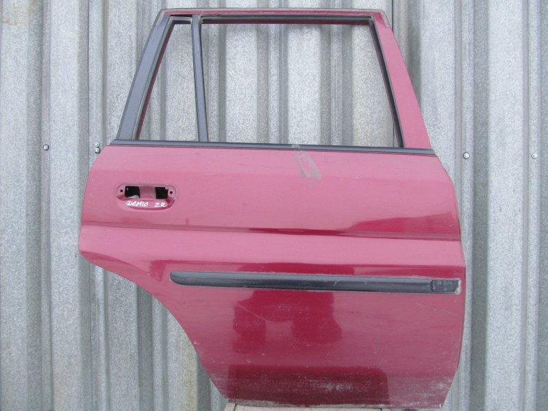 Дверь Mazda Demio Dw 2000 задняя правая