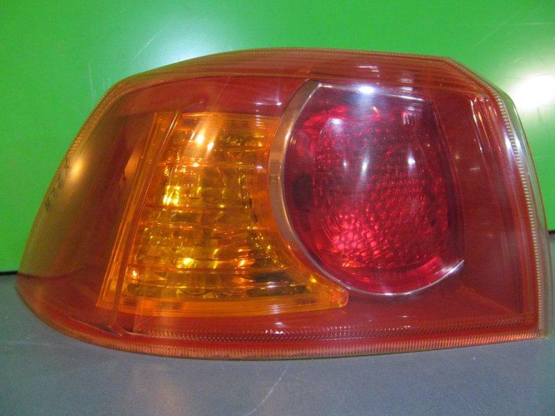 Фонарь Mitsubishi Lancer X 2007 левый