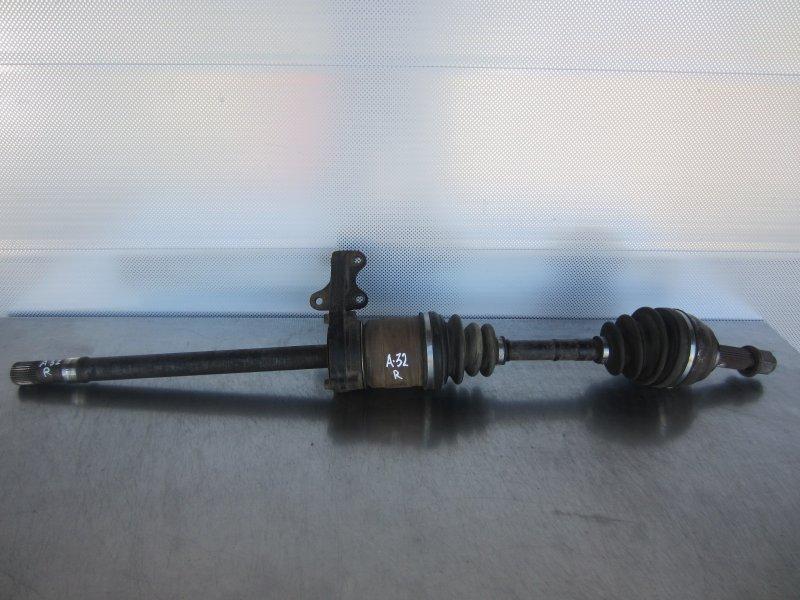 Привод Nissan Maxima A32 VQ30DE 1997 правый
