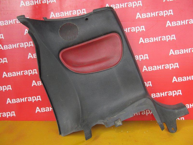Обшивка салона Peugeot 206 2D EW10J4 2003 задняя