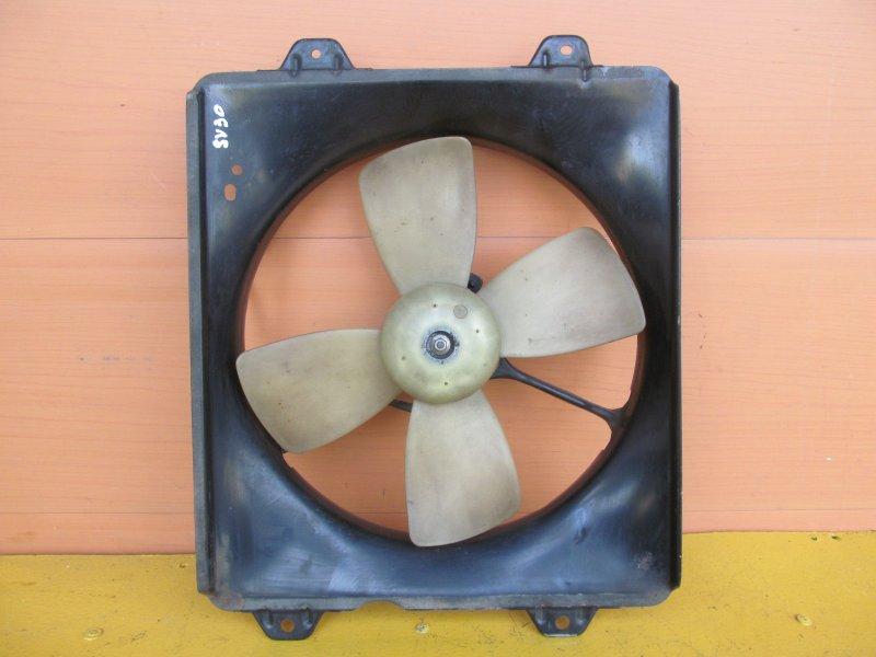 Электровентилятор охлаждения Toyota Vista Sv30 1993
