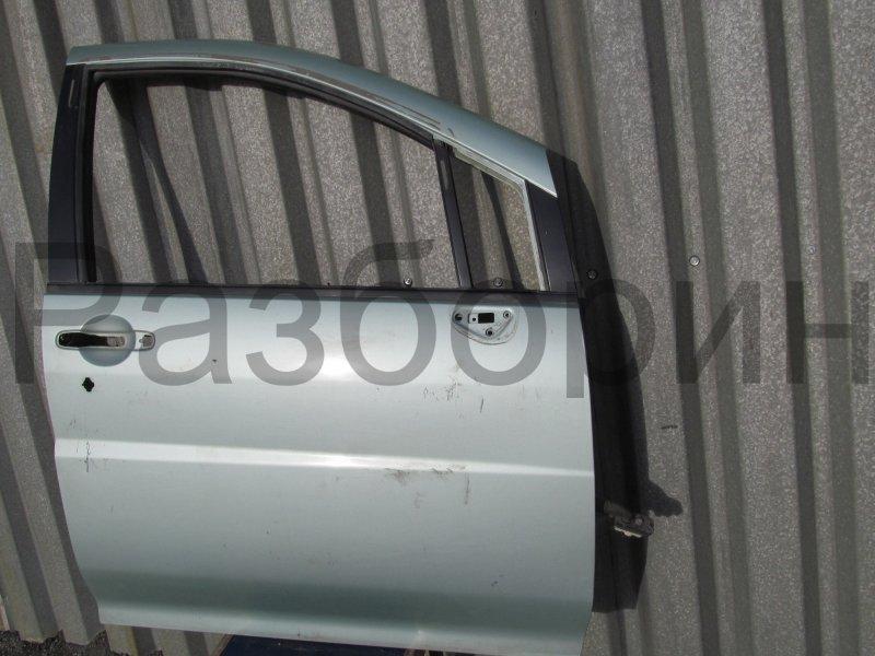 Дверь Nissan Liberty M12 PM12 SR20DE 1999 передняя правая