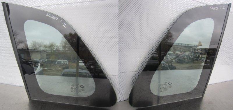 Форточка кузова Renault Koleos 2TR 2008 задняя