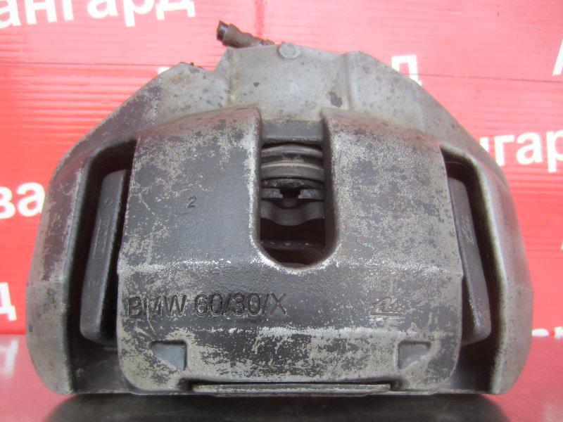 Суппорт тормозной Bmw E60 N52B30 2006 передний