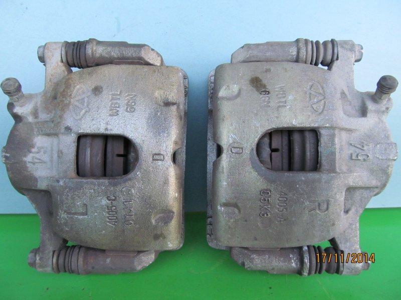 Суппорт тормозной Chery Amulet 2010 передний