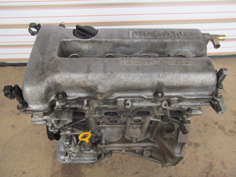 Двигатель Nissan Avenir 10 SR20 DE 1997