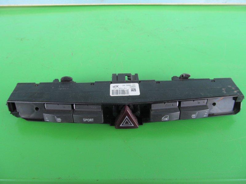 Кнопки Opel Astra H 2007