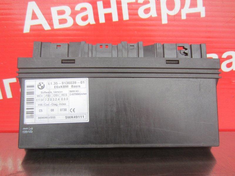 Блок bcm Bmw E60 N52B30 2006