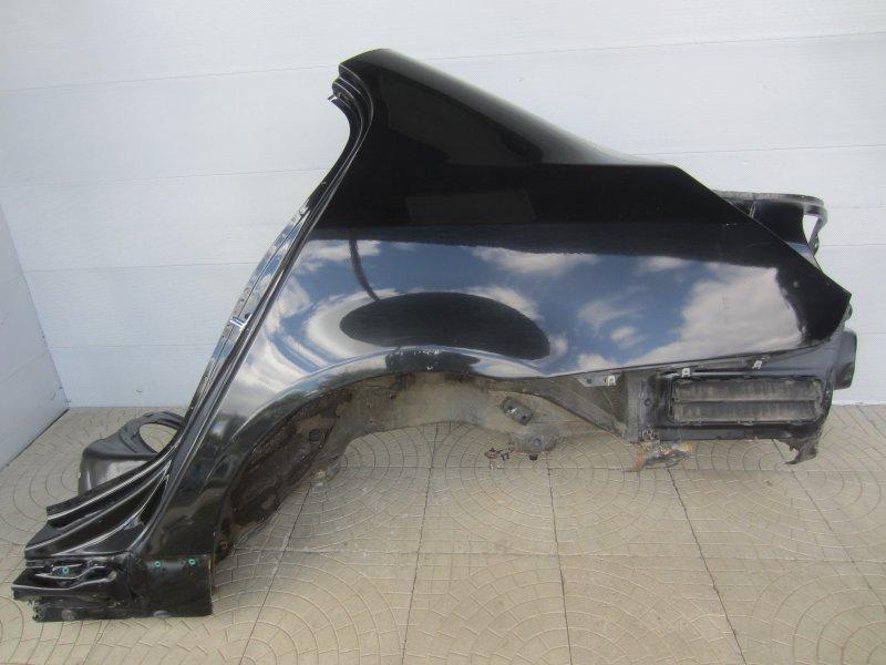Крыло Bmw E60 N52B30 2006 заднее левое