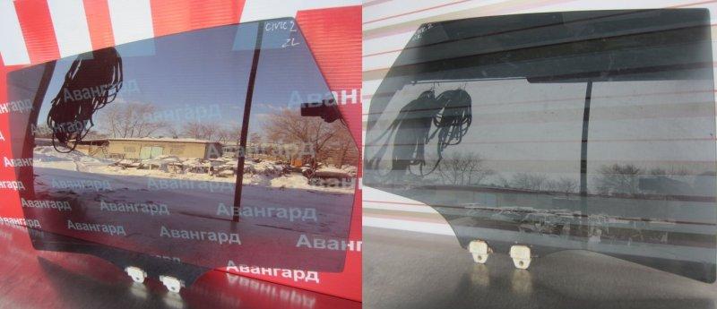 Стекло двери Honda Civic 7 ХЕТЧБЭК 2001 заднее