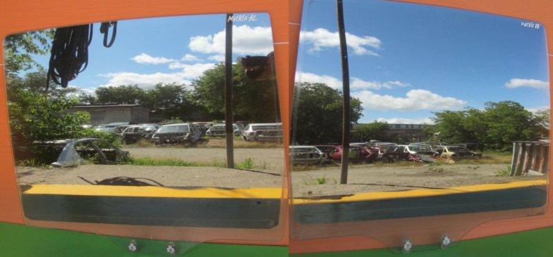 Стекло двери Hyundai Matrix 2004 заднее