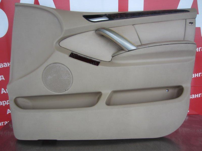 Обшивка двери Bmw E53 2001 передняя правая