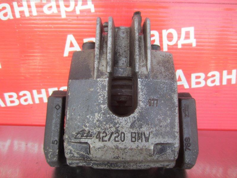 Суппорт тормозной Bmw E60 N52B30 2006 задний левый