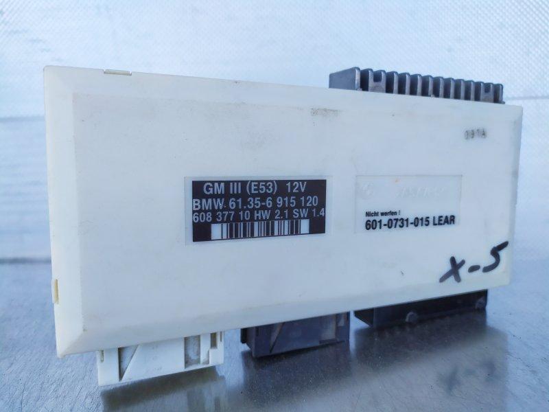 Блок bcm Bmw E53 2001