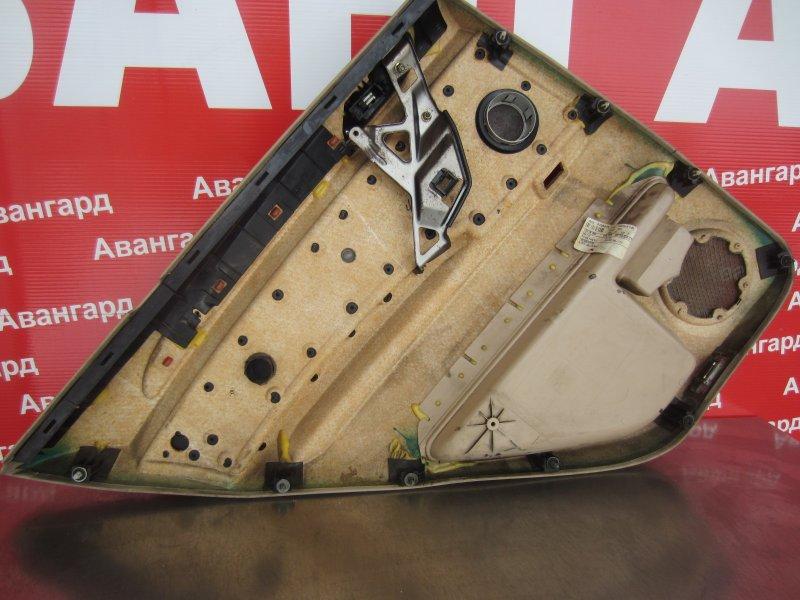 Обшивка двери Bmw E53 2001 задняя правая