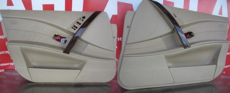 Обшивка двери Bmw E60 N52B30 2006 передняя