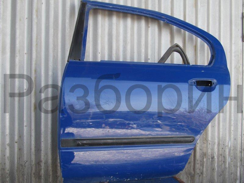 Дверь Nissan Primera P11 1997 задняя левая