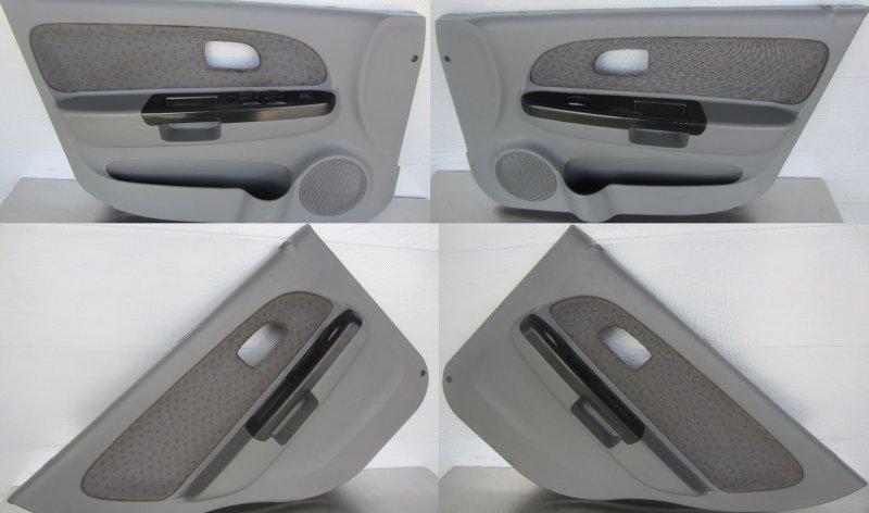 Обшивки дверей комплект Kia Rio Dc 2004