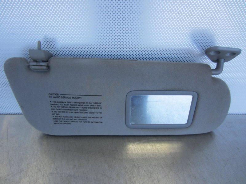 Козырек солнцезащитный Hyundai Sonata Ef 2005 правый