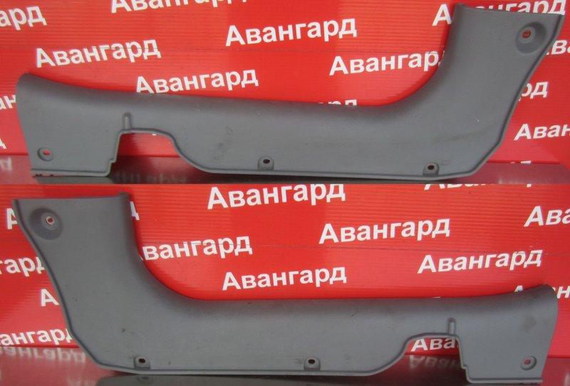 Накладка порога Kia Rio Dc УНИВЕРСАЛ 2004 передняя