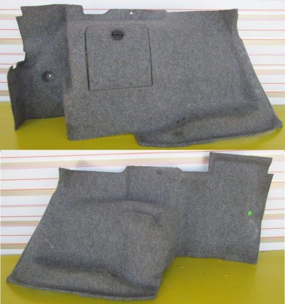 Обшивка багажника Bmw E46 КУПЕ 2000 задняя