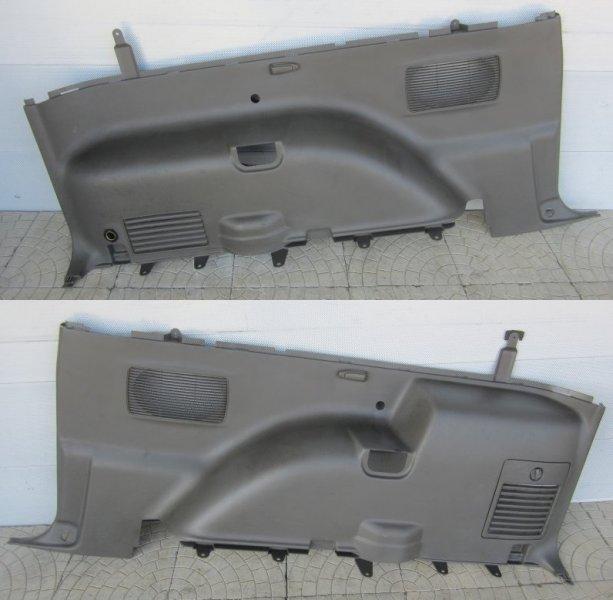 Обшивка багажника Mitsubishi Pajero 3 КУПЕ 6G74 (GDI) 2003 задняя