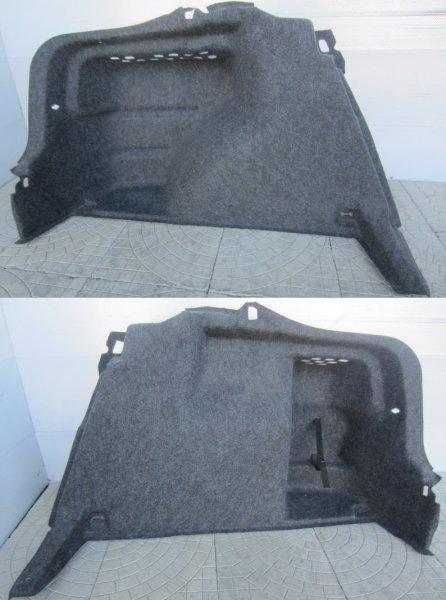 Обшивка багажника Skoda Rapid 2014