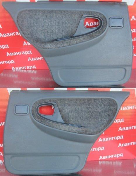 Обшивка двери Daewoo Nexia 2007 задняя