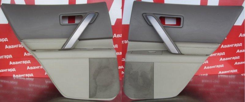 Обшивка двери Infiniti Fx S50 2003 задняя