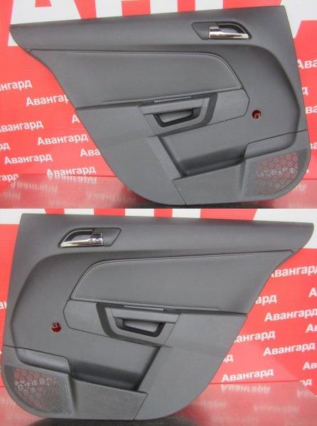 Обшивка двери Opel Astra H СЕДАН 2011 задняя