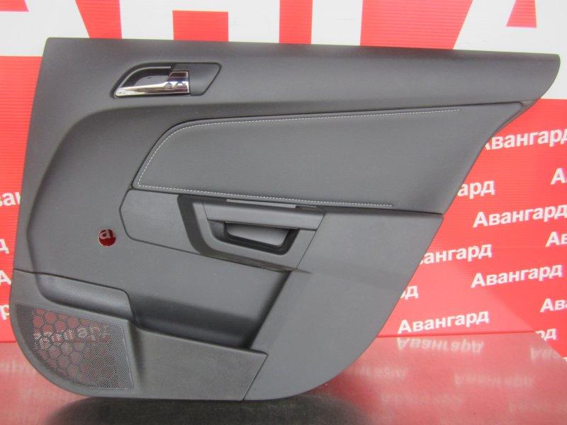 Обшивка двери Opel Astra H СЕДАН 2011 задняя правая