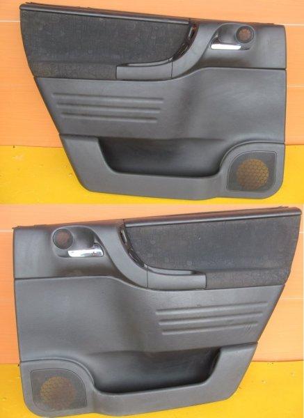 Обшивка двери Opel Zafira A 2002 задняя