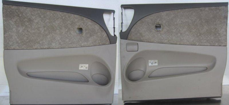 Обшивка двери Toyota Estima Acr40 ACR40 2AZ-FE 2003 задняя
