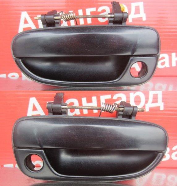 Ручка двери наружная Hyundai Accent G4EC (1.5 Л) 2006 передняя