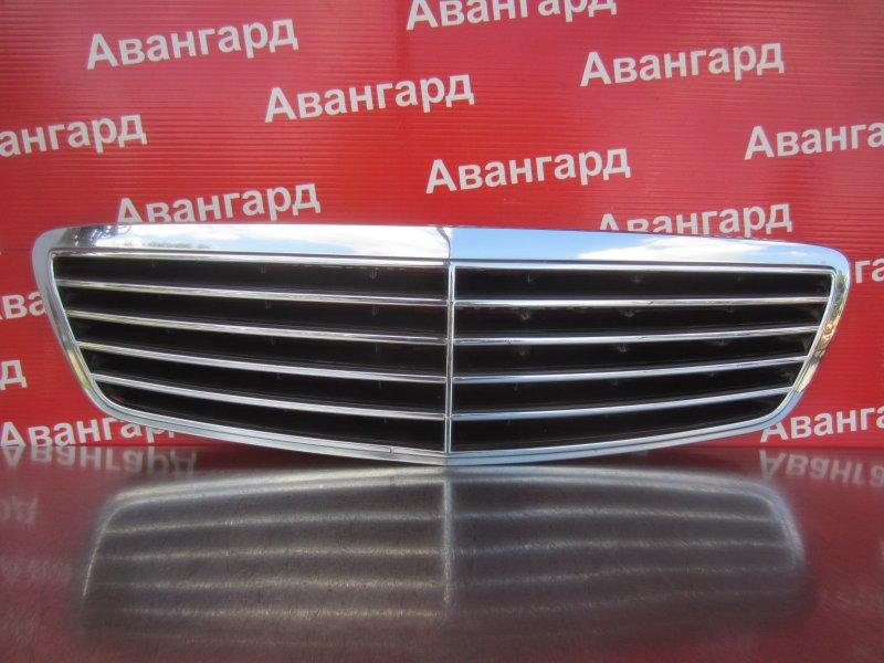 Решетка радиатора Mercedes-Benz W220 2001