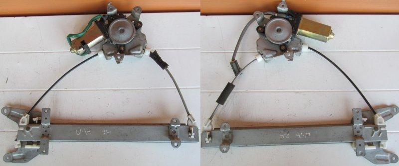 Стеклоподъёмник Nissan Bluebird U14 1997 задний