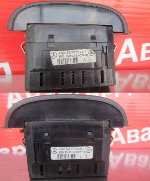 Дисплей парктроника Mercedes-Benz W220 2002 передний